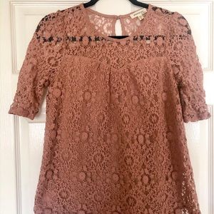 Lace Blush Blouse